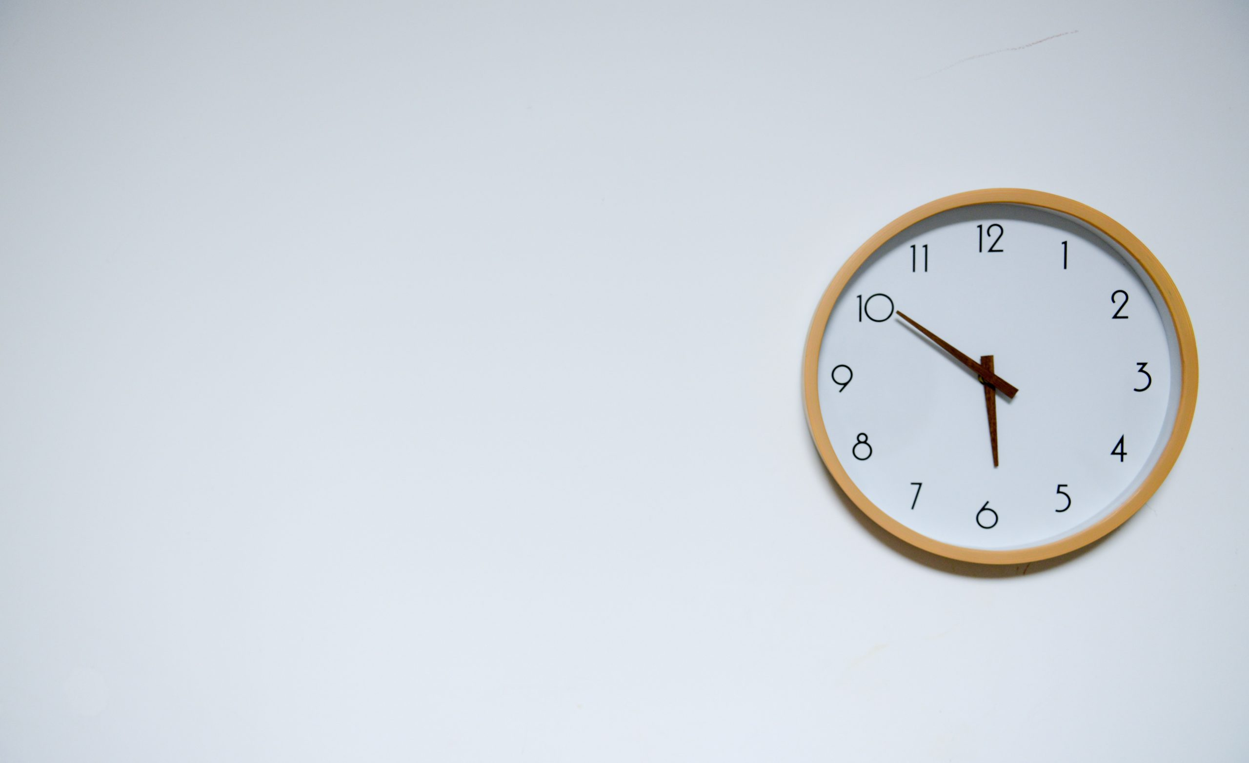 Clock - routines are important to wellbeing